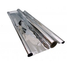 Mylar Silver sheeting 10mtr roll