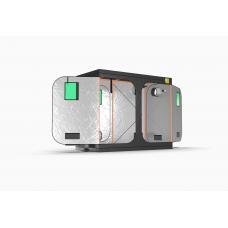 GreenQube 1.2m x 2.4m x 2m tent
