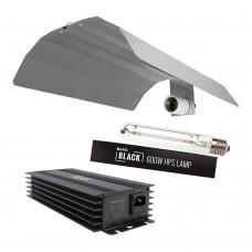 Lumii Black 600watt complete light kit