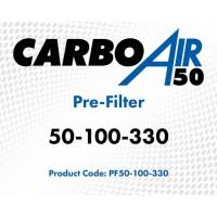 CarboAir 50 100 330 Pre-Filter