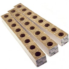 "Grodan Rockwool block 3"" box of 384 inch hole"