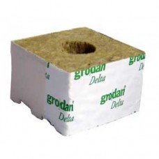 "Grodan Rockwool block 4"" box of 216 inch hole"