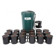 I.W.S DWC 18 pot system