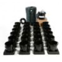 I.W.S flood and drain 24 pot watering system