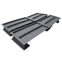 MD604 4 Tray 6'x3' multiduct system large tank