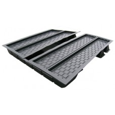 MD803 2 tray 8'x3' multiduct system large tank