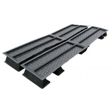 MD804 4 tray 8'x3' multiduct system large tank