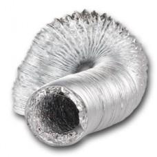 Aluminium Ducting 125mm 10m